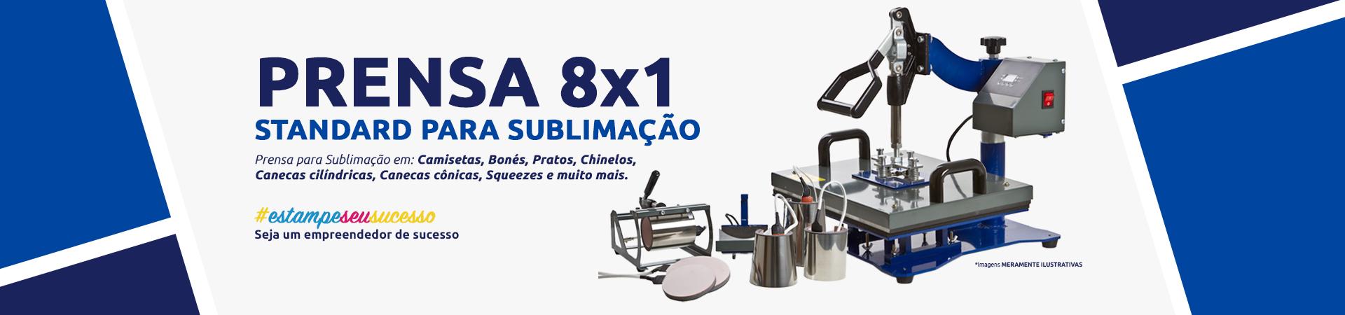 prensa 8x1 standard