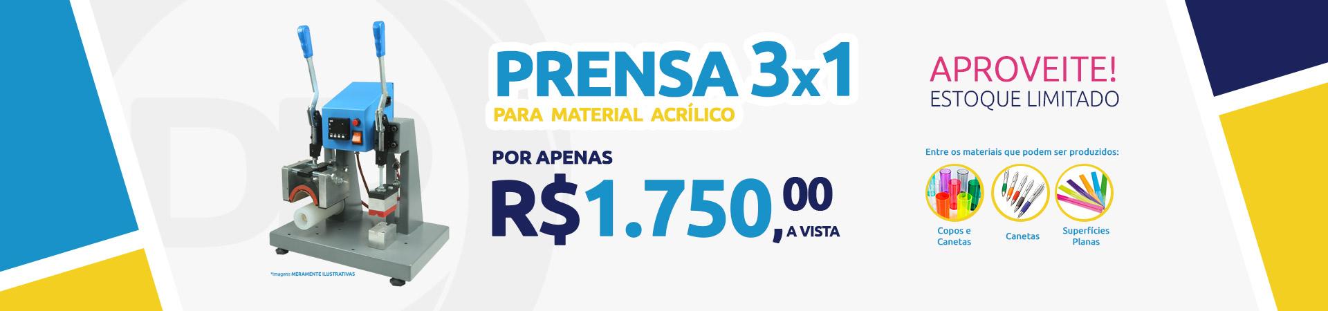 Prensa 3 x 1
