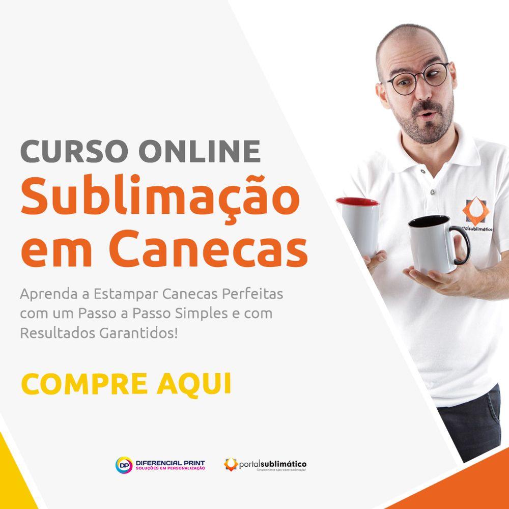 759d2dfef Curso Online de Sublimação em Canecas - Portal Sublimático -  diferencialprint
