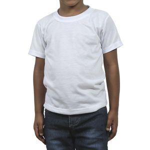 fba21f3866 Camiseta de Poliéster para Sublimação - Infantil