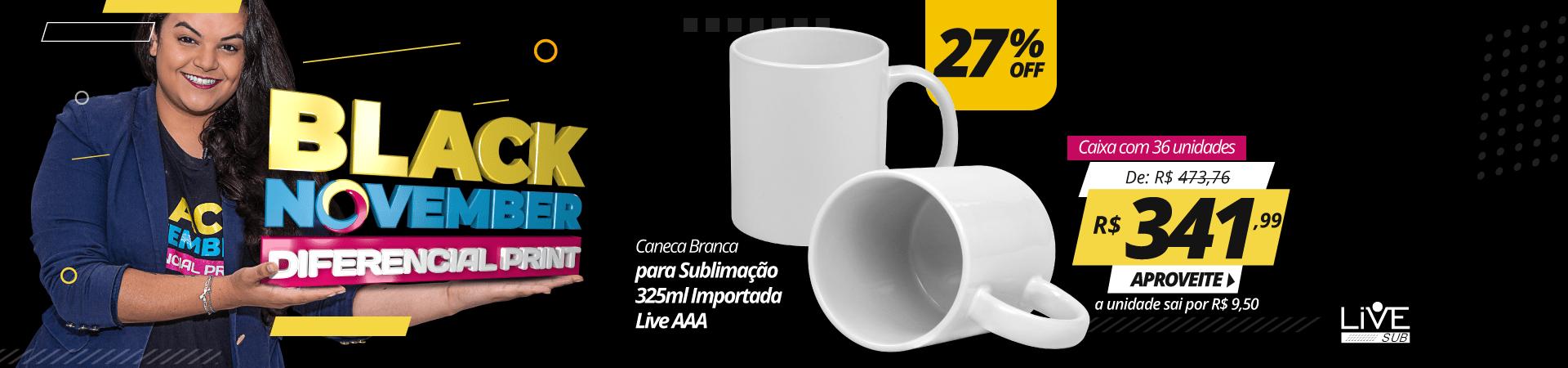 Black November 2020 - Caneca Branca 36 und