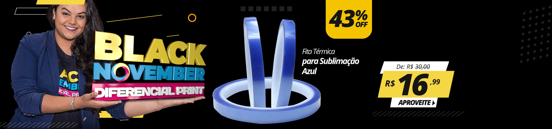 Black November - Fita Azul