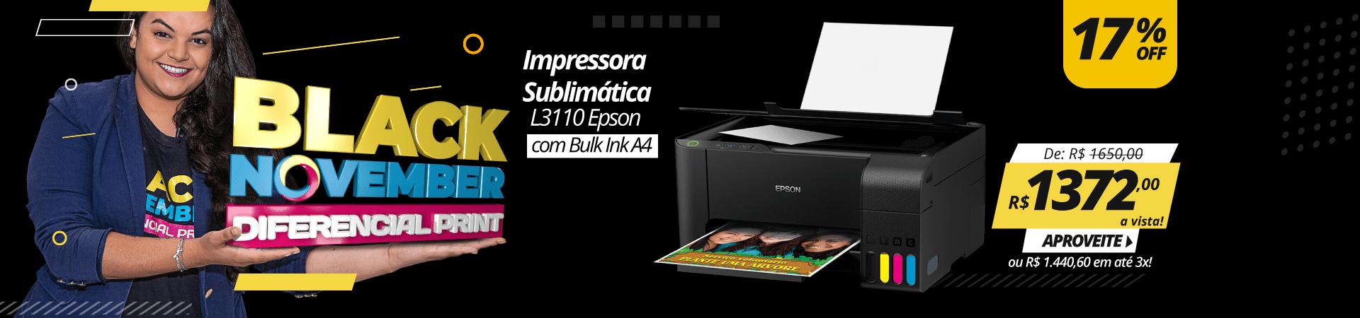 Black November 2020 - Impressora L3110