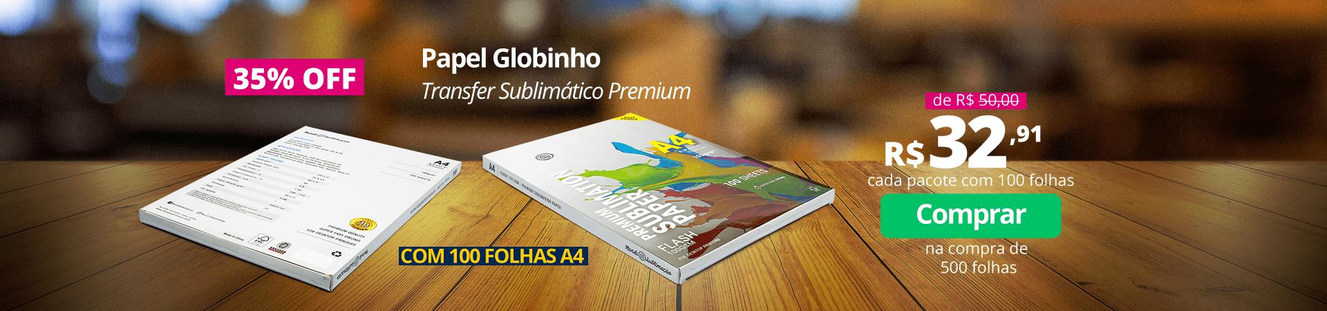 Papel Globinho 39,99